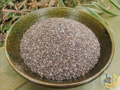 Chia semínka / Chia seeds  http://www.tarzanslife.cz/