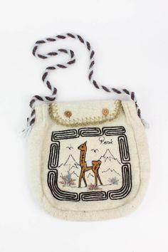 SALE / Peruvian Llama Felted Bag