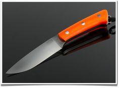 BRK&T fox river con manicatura in g10 arancio