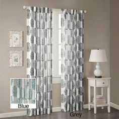 Madison Park Emerson Arabesque Curtain Panel | Overstock.com Shopping - The Best Deals on Curtains $33