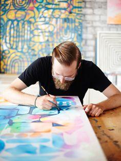 Meet Crown Heights' Artist In Residence #Refinery29