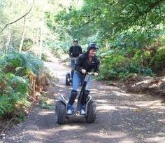 Segway Rally. I did it for my 35th in London. Really is awesome.