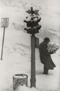 FIRST DAY OF SPRING... New York City, circa 1957    - (From W. Eugene Smith: Photographs) -