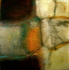 "Contemporary Painting - ""Site #4"" (Original Art from jeane myers)"