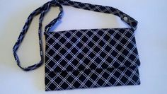 White on Black Diamonds  3 way by tonilovesbuttons on Etsy, $47.00