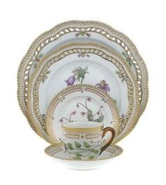 Flora Danica by Royal Copenhagen china