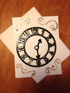 The Time is Now: Handmade Greeting Card on Etsy, $1.00