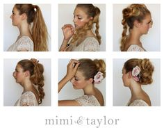 mimi & taylor: DIY- braided bun