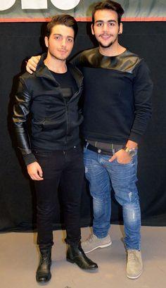 Gianluca Ginoble and Ignazio Boschetto of Il Volo