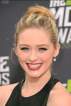 Greer Grammer of MTV's 'Awkward.' on the red carpet at the 2013 MTV Movie Awards in Los Angeles. | MTV Photo Gallery