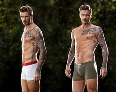 "Another Beckham is in the spotlight. David is back for a new H underwear spread. He took to Facebook and said:        ""Here are a few campaign shots from my latest H range. More to come this week…"""