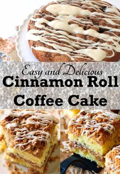 Cinnamon Roll Coffee Cake is a quick and easy because it starts with a cake mix. You'll love the taste and aroma of a cinnamon roll without the work.