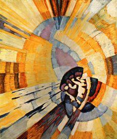 Frantisek Kupka, Forme de Jaune (Notre Dame), 1911
