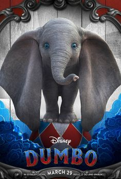 Dumbo on DVD June 2019 starring Colin Farrell, Eva Green, Danny DeVito, Michael Keaton. Circus owner Max Medici (Danny DeVito) enlists former star Holt Farrier (Colin Farrell) and his children Milly (Nico Parker) and Joe (Finley Disney Live, Disney Dumbo, Disney Disney, Disney Princess, Michael Keaton, Colin Farrell, Movies 2019, New Movies, Good Movies