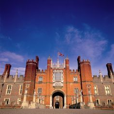 Hampton Court Palace: The imposing entrance to Hampton Court. Photo courtesy of Olympics Source | GEV Magazine