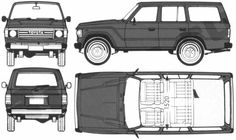land cruiser 60 series dimensions - Google Search