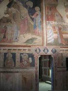 Castello dei Conti Guidi, Poppi (Arezzo) - affreschi di Taddeo Gaddi (attr.) - 1330-1350
