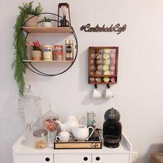 Coffee Bar Home, Coffee Corner, Bedroom Corner, Room Ideas Bedroom, Decoration, Art Decor, Home Decor, Coin Café, Medical Office Decor