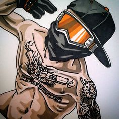 Badass Motorcycle Artwork by Scaronistefano