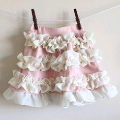 Ballet Ruffle Skirt Tutorial