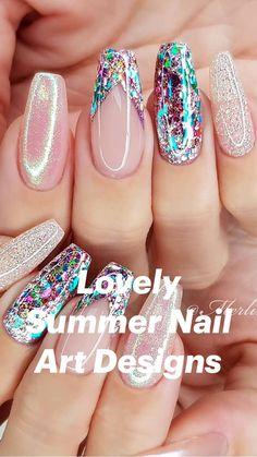 Matte Pink Nails, Pink Nail Art, Metallic Nails, Purple Nails, Art Nails, Glitter Nails, Best Acrylic Nails, Acrylic Nail Designs, Nail Art Designs