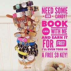 Still have some spots open for July!! Book a social with me now before time runs out on this free key offer!! #KEEPcollective #armcandy #jewelry #accessorize #bracelets #necklaces #watches