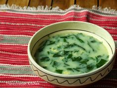 Spinach  and Ramsons Soup by Transylvanian Kitchen