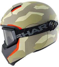 Shark Vancore Wipeout in military green