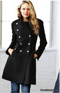 i love military coats and jackets - Mango Funnel Neck Military ...