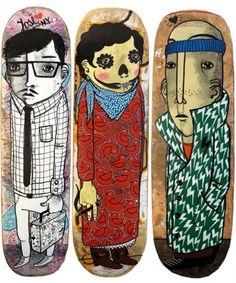 sk8 #skate #boards #ilustratedboards