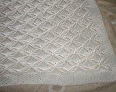 Copertina per carrozzine o culla realizzata a mano in pura lana baby merino 100% : Moda bebè di nonsolomaglia