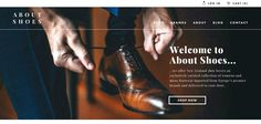 About Shoes : Nice ecommerce website http://www.webdesign-inspiration.com/web-design/baillyjulien-com-27847