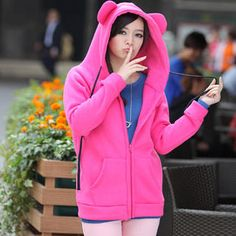 Buy 'Ando Store – Ear-Accent Hooded Jacket' with Free Shipping at YesStyle.com.au. Browse and shop for thousands of Asian fashion items from China and more!