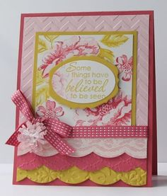 Stampin' Up! Card... Pretty!