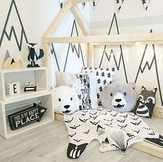 All the inspiration you need for decorating a kids room! Create a fun space for your little ones with this collection of super cute kids rooms for boys and girls, gender neutral rooms, shared bedrooms and more for inspiration.