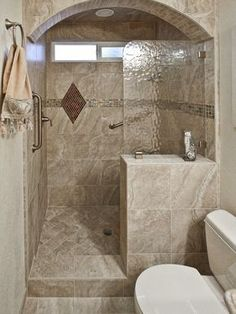 60 Adorable Master Bathroom Shower Remodel Ideas In 2019 images ideas from Home Bathroom Ideas Small Bathroom With Shower, Master Bathroom Shower, Modern Bathroom Design, Bathroom Interior, Budget Bathroom, Bathroom Remodeling, Bathroom Designs, Remodeling Ideas, Attic Bathroom