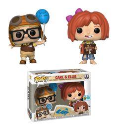 Personaggio in vinile Carl ed Ellie in esclusiva SDCC serie Pop! Funko Pop Dolls, Figurines Funko Pop, Figurine Pop, Funko Pop Figures, Vinyl Figures, Pop Figures Disney, Funko Toys, Disney Pop, Disney Pixar Up