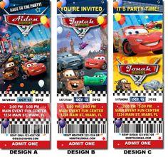 Carter's Birthday Invitation Disney Cars Invitation Printable Printable by Uprintparty on Etsy, $10.00