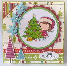 Kittys Krafty Blog: Christmas Mimi