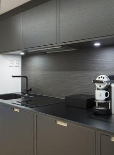 Moderne kontorlokaler, Oslo - Nyfelt og Strand Interiørarkitekter Oslo, Kitchen Cabinets, Kitchen Appliances, Bespoke Kitchens, New Homes, Architecture, House, Home Decor, Modern
