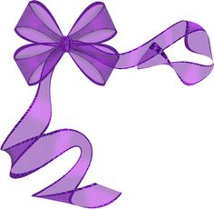 """Photo from album """"Бант"""" on Yandex. Purple Ribbon, Ribbon Bows, Ribbons, Bow Clipart, Birthday Frames, Christening Invitations, Flower Sketches, Happy Birthday Messages, Japanese Flowers"""