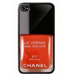 Chanel Nail Polish iPhone 4/4S Case