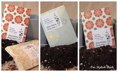 DIY Seed Favor Packets
