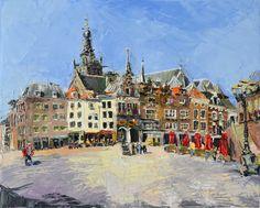 Nijmegen,oil on canvas, 2015, Valeriya Nikitorova
