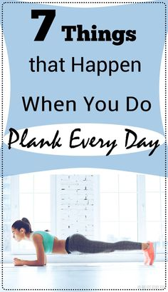 A plank is a simple, but effective core exercise which helps us build stability and strength throughout our entire body. If you do it regularly every day, it will provide numerous of benefits for your organism.