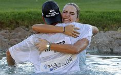 4/6/2014 - Michelle loses to Thompson on Sunday as she beats Wie by 3 to win Kraft Nabisco Major. Great Golf - Great Ladies.