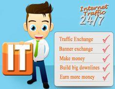 Trafic Internet 247 - un échange de trafic social libre puissant