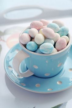 A Cup Of Easter Eggs