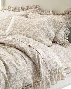 Ashby Floral Cotton & Linen Bedding