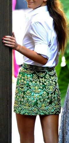 Daily Crush: GREEN WITH ENVY http://dailycrushes.blogspot.com/2013/04/green-with-envy.html